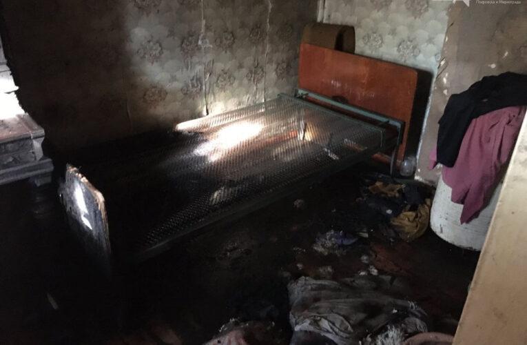 У Покровську під час пожежі вогнеборці врятували чоловіка