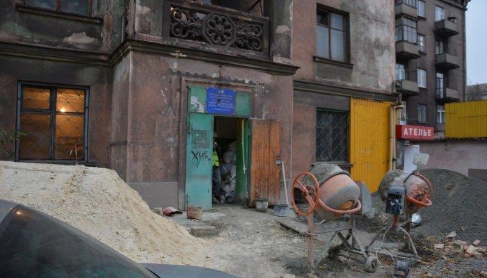 В Мариуполе бывший ЖЭК реконструируют под квартиры для переселенцев